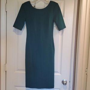 Lulu's Green midi dress